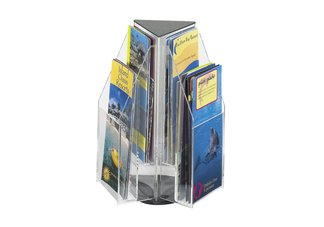 ClearReveal 6 Pamphlet Tabletop Displays