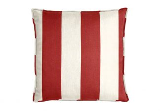 Al Fresco Cabana Stripe Holiday Pillow