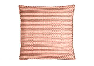 Robert Allen Dash Motifs Coral Pillow