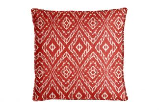 Robert Allen Strie Ikat Poppy Pillow