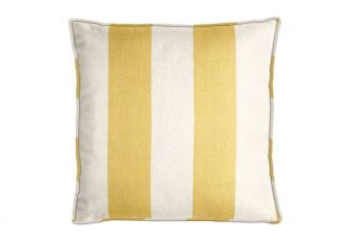 Al Fresco Cabana Stripe Buttercream Pillow