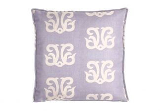 Al Fresco Dolphin Crest Sea Lavender Pillow