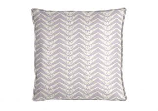 Al Fresco Shell Herringbone Sea Lavender Pillow