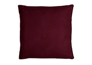 Highland Taylor Text Chenille Mulberry Pillow