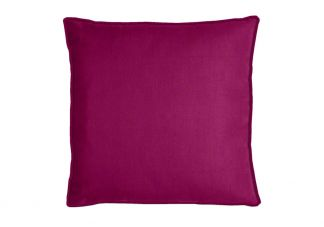 Robert Allen Canvas Duck Fuchsia Pillow