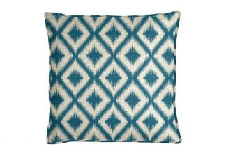 Robert Allen Ikat Fret Tourmaline Pillow