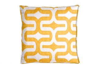 Premier Prints Embrace Corn Yellow Pillow