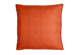 Robert Allen Softknit Bk Orange Crush Pillow