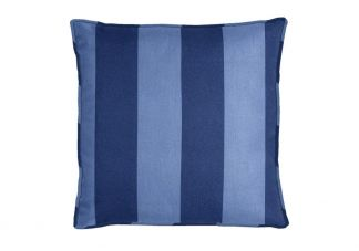 Al Fresco Cabana Stripe Chambray Pillow