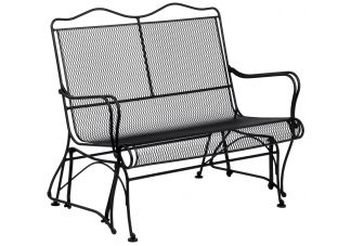Tucson High Back Love Seat Glider