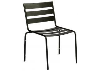 Iron Cafe Series Metro Stackable Side Chair