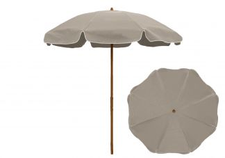 Frankford Catalina 7.5 ft. Aluminum Patio Umbrella with Fiberglass Ribs