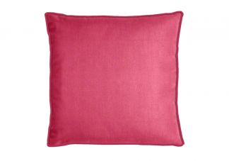 Sunbrella Canvas Hot Pink Pillow