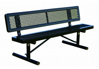 Webcoat Elementary Height Regal Park Bench