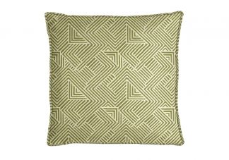 Robert Allen Folded Maze BK Leaf Pillow