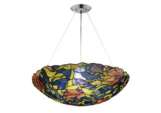 Impressionist 3-Light Pendant in Polished Chrome