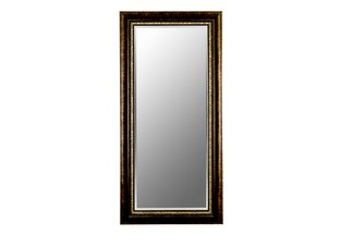 Cameo Rubbed Copper Bronze Mirror