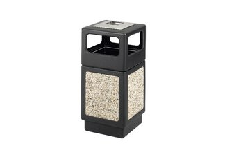 Canmeleon Aggregate Panel, Ash Urn/Side Open, 38 Gallon