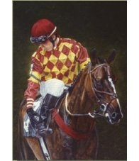 equestrian note cards, horse racing note cards, horse racing, equestrian accessories, steeplechase