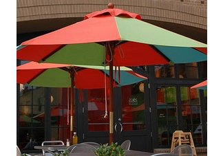 Patio  Garden: Patio Furniture  Decor: Umbrellas  Bases