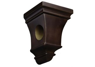 Walnut Astoria Drapery Sconce
