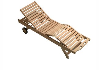 Shop Teak Chaise Lounges