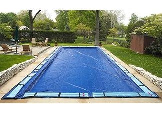 pool cover, winter pool covers, rectangle pool covers