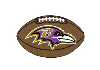 NFL - Baltimore Ravens Football Rug