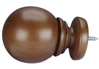 Fruitwood Belle Of The Ball Finial