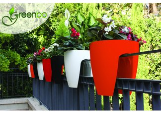 Green Dzigns Greenbo Railing Planter