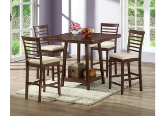 Kelsey Modern Pub Set - 5 Piece Modern Dining Set