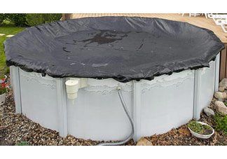 mesh pool cover, pool covers, winter pool covers