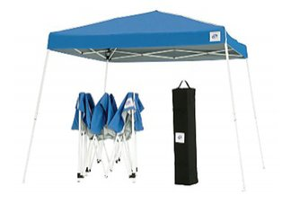 portable shelters, pop up tents