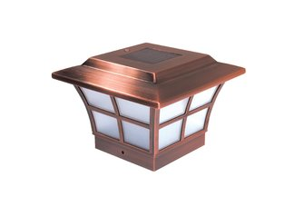 4X4 PRESTIGE SOLAR POST CAP - COPPER