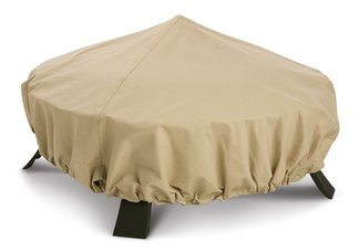 fire pit cover, outdoor fire pit cover, patio fire pit cover, outdoor patio fire pit cover