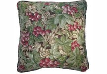 Grape Vineyard Throw Pillow