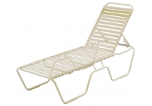 Country Club Strap Chaise Lounge