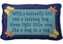 Infant Butterfly Pillow