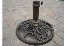 Cast Iron Round Umbrella Stand