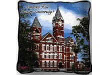Auburn Univ Samford Hall Pillow