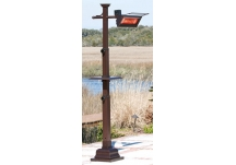 Bronze Mission Design Infrared Patio Heater