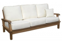 Miami Deep Seating Teak Sofa