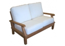 Miami Deep Seating Teak Loveseat