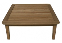 Miami Teak Square Coffee Table