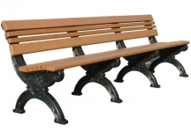 Cambridge 8' Backed Bench