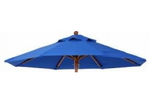 7.5' Wood Market Replacement Umbrella Canopy, 7.5ft Market Umbrella Replacement Canopy