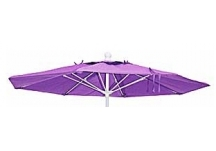 7.5' Fiberglass Market Replacement Umbrella Canopy, Replacement Skin Fiberglass Ribs