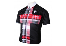 Snowhaven Black Cycling Jersey