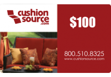 100 Cushion Source Gift Card