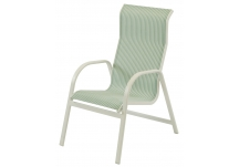Ocean Breeze Sling High Back Dining Chair